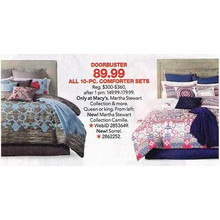 Martha Stewart Collection Camille 10-pc. Comforter Sets