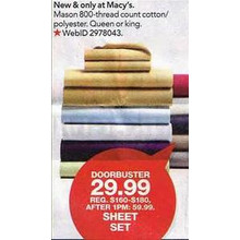 Mason 4-pc. Sheet Sets
