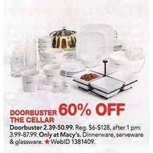 The Cellar Glassware 60% OFF