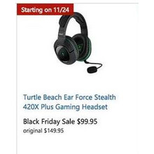 Turtle Beach Ear Force Stealth 420X Plus Gaming Headset