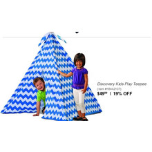 Discovery Kids Play Teepee - 19% OFF
