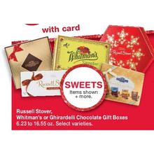 50% Off Russell Stover, Whitman's or Ghiradelli Chocolate Gift Boxes