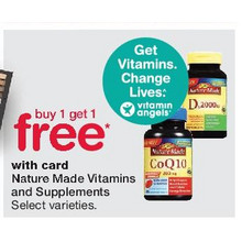 Nature Made Vitamins And Supplements - Buy One, Get One Free