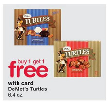 BOGO DeMet's 6.4-oz. Turtles (Assorted Flavors)