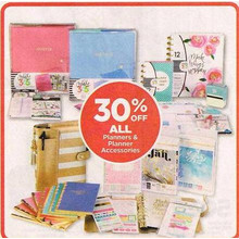 All Planners & Planner Accessories - 30% OFF