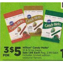Wilton Candy Melts - 3 for $5