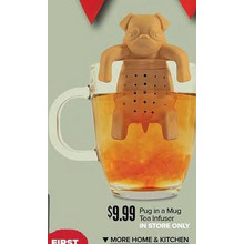 Pug in a Mug Tea Infuser (In Store Only)