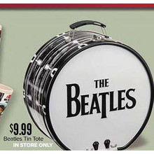 Beatles Tin Tote (In Store Only)