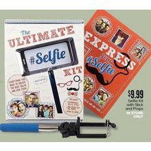 Selfie Kit with Stick and Props(In Store Only)