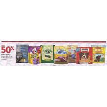 Select Treats & Chews, 2.2-40 oz. & 10 lb. packages - Save 50%Off