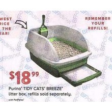 Purina TIDY CATS BREEZE Litter Box, Refills Sold Separately