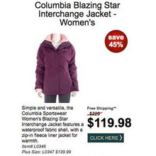 Columbia Blazing Star Interchange Jacket (Women's) - Save 45%