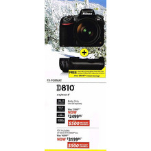 Nikon D810(Lens only) - Kit Includes 24-120mm f/4 FX NIKKOR lens