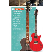 EPIPHONE Limited-edition Les Paul Special-1 - Save $70.99 Off