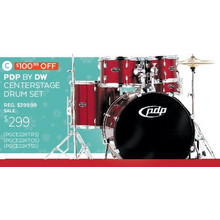 PDP by DW Centerstage Drumset - Save $100.99 Off