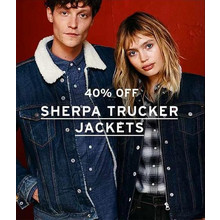 40% Off Sherpa Trucker Jackets