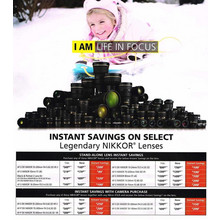 Instant Savings on Select Legendary NIKKOR Lenses