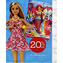 Barbie Assorted Dolls 20% OFF