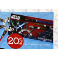 Star Wars Lightsabers 20% OFF