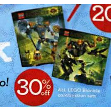 Lego Bionicle Construction Sets 30% OFF