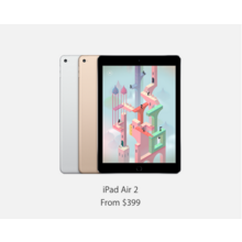 iPad Air 2 with Free Gift Card