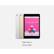 iPad mini 4 with Free Gift Card