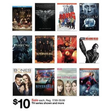 Selected TV Season Sets on DVD & Blu-ray