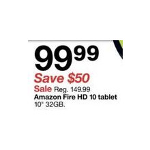 Amazon Fire HD 10″ 32GB Tablet