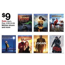 Selected DVD & Blu-ray Movies