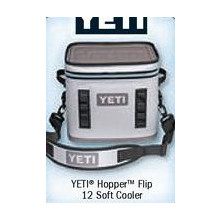Free First 200 In Line Chance to Win Yeti Hopper Flip 12 Soft Cooler