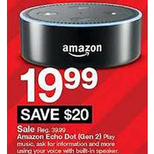 Amazon Echo Dot 2nd Generation Smart Speaker