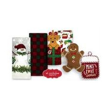 St. Nicolas Square 2-Pack Kitchen Towels or Oven Mitt Pot Holder Sets