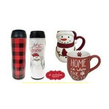 St. Nicolas Square Mugs or Thermal Mugs