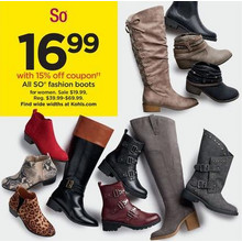 So Womens Fashion Boots
