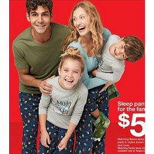 Matching Sleep Pants for the Family