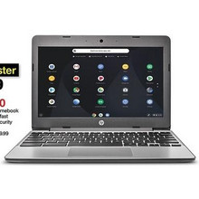 "HP 11.6"" Chromebook with 4GB Memory"
