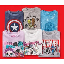 Toddlers and Kids Character Tees