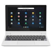 "Lenovo 2-in-1 11.6"" Touch-Screen Chromebook MT8173c w/ 4GB Memory, 32GB eMMC Flash Memory (Blizzard White)"