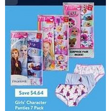 Girls' Character Panties 7-Pack