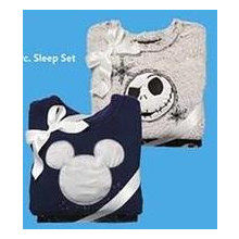 Novelty Plush 2-Piece Sleep Set