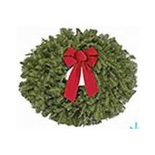 Fresh Fraser 22-in. Fir Christmas Wreath w/ Bow (2 for $10.00)