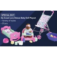 My Sweet Love Deluxe Baby Doll Playset (11/7 Online & Stores)