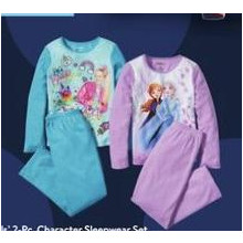 Girls' 2-Piece Character Sleepwear Set (11/14 In-Store)