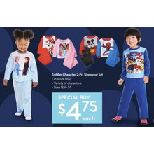 Toddler Character 2-Piece Sleepwear Set (11/14 In-Store)