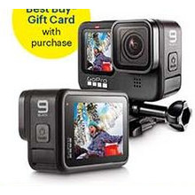 GoPro HERO9 Black 5K Waterproof Action Camera