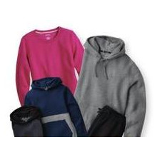Select Tek Gear Ultra Soft Fleece Clothing for the Family