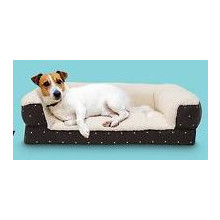 Boots & Barkley Medium Modern Slant Couch Pet Bed