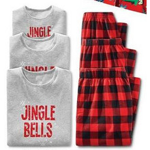 Matching Holiday Sleep Tees or Pants for the Family