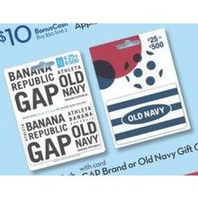 GAP Brand or Old Navy Gift Cards