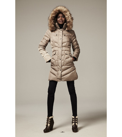 Designer Down Coat from DKNY, Laundry Calvin Klein and More